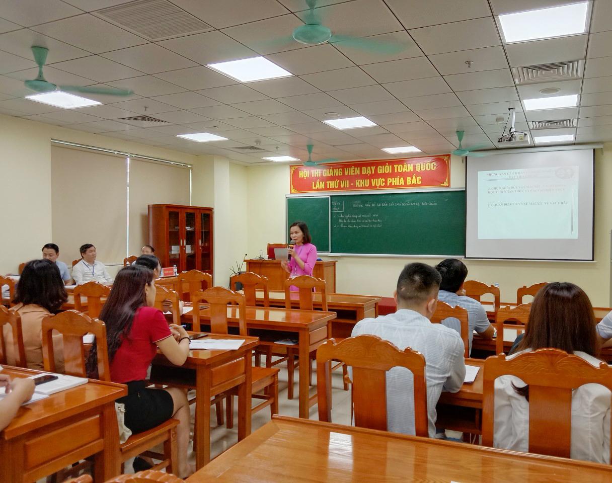 Hội thi Giảng viên dạy giỏi toàn quốc các trường chính trị lần thứ VII: Các thí sinh bước vào nội dung thi