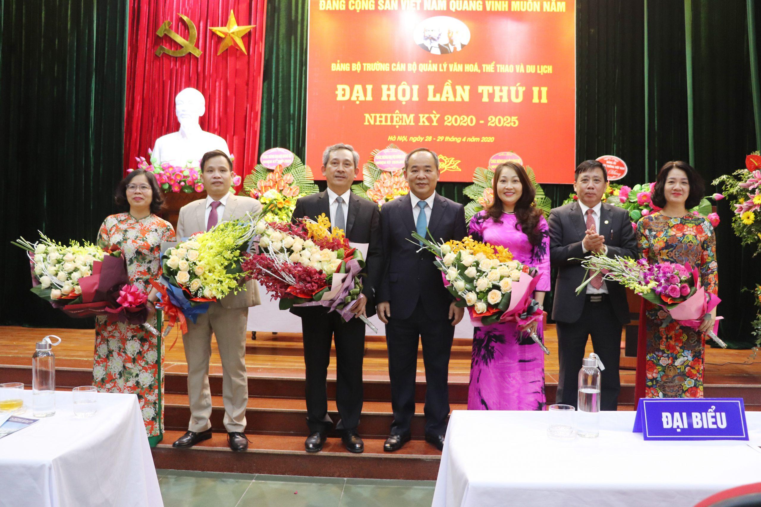 Đại hội Đảng bộ Trường Cán bộ quản lý văn hóa, thể thao và du lịch