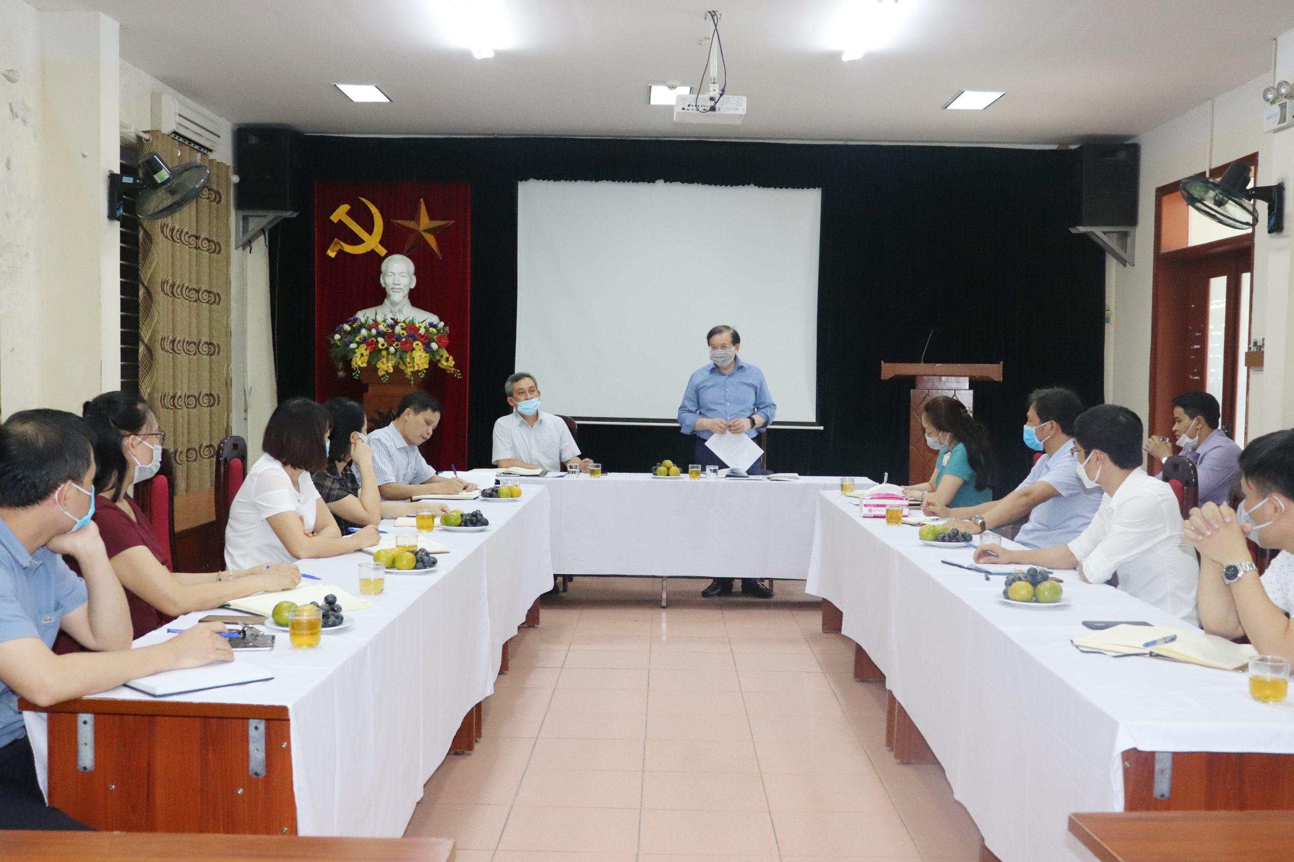 Thứ trưởng Tạ Quang Đông: Ghi nhận những nỗ lực, cố gắng của tập thể Nhà trường trong thời gian qua