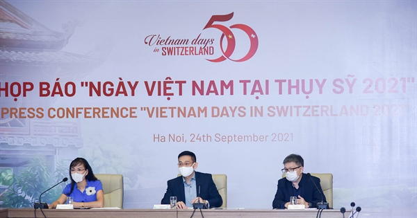 Ngày Việt Nam tại Thụy Sỹ năm 2021 sẽ được tổ chức online