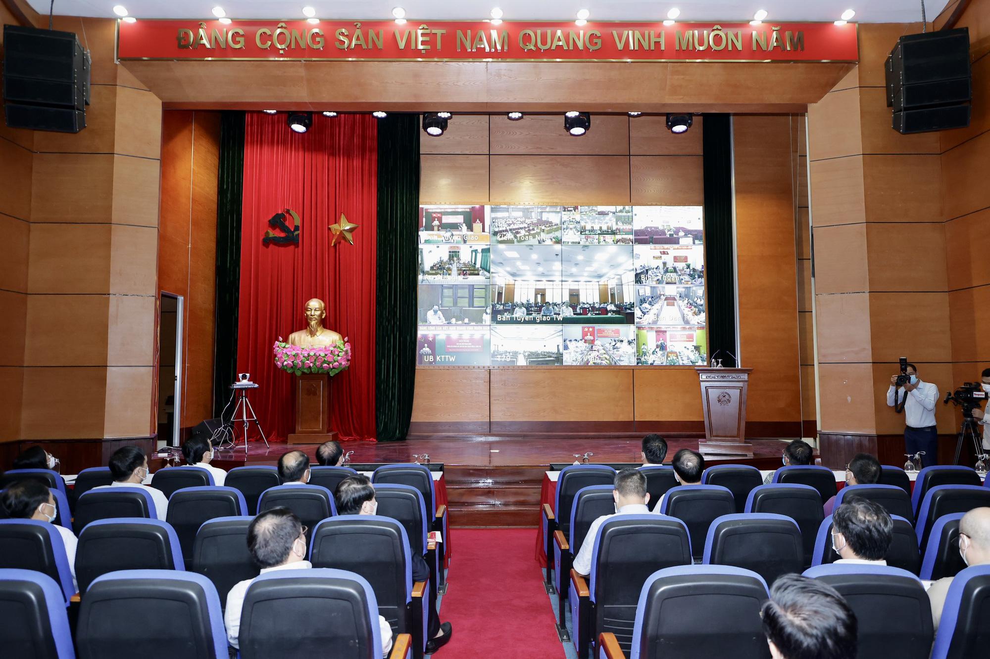 Đảng ủy Bộ VHTTDL tham gia Hội nghị thông báo kết quả Hội nghị lần thứ 4 BCH Trung ương Đảng khóa XIII